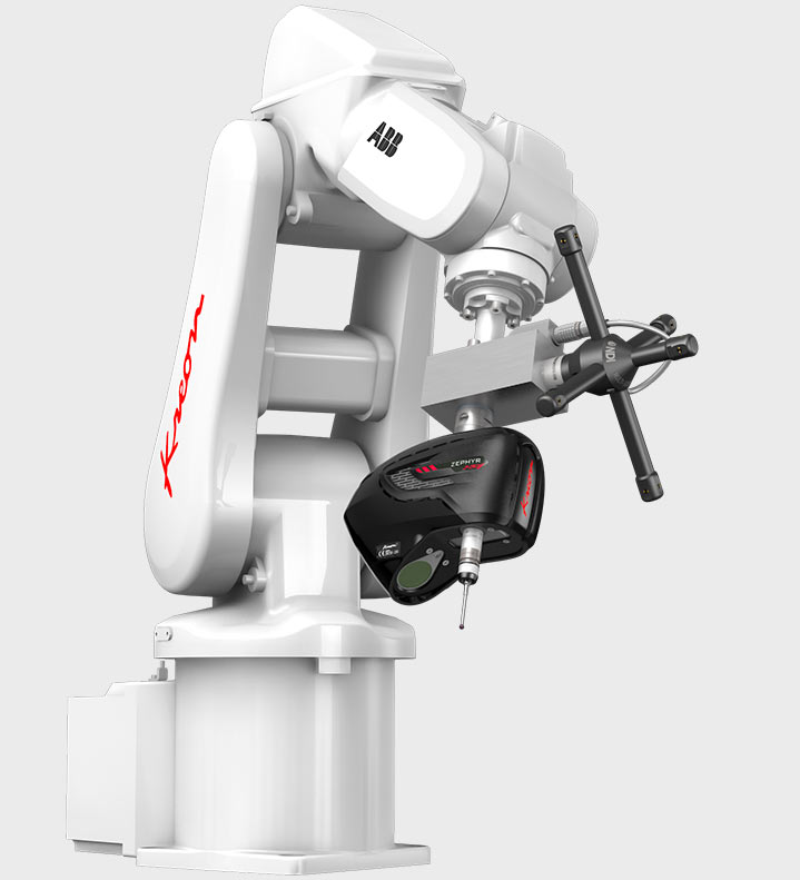 AirTrack Robot with Zephyr II Blue 3D laser scanner