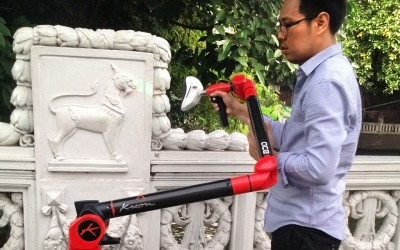 Bangkok Weeping Bridge preservation: Kreon's products helpful for heritage 3D scanning
