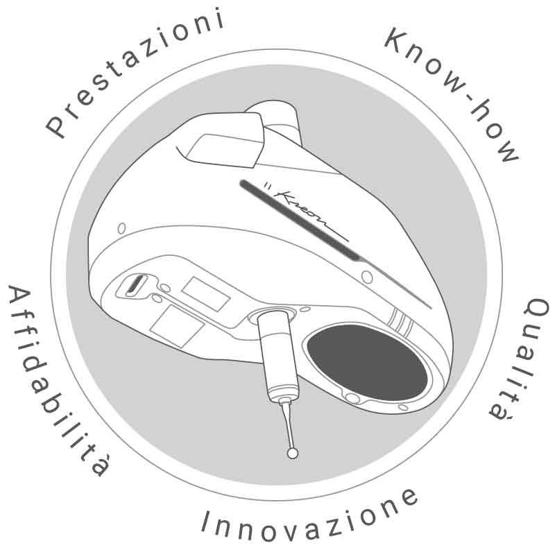 Qualità degli scanner laser Kreon 3d : prestazioni, innovazione, know-how, qualità, affidabilità