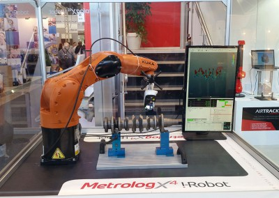 AirTrack Robot with Kuka robot