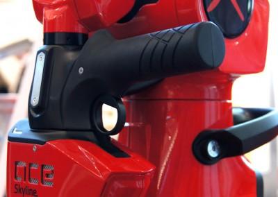 Skyline 3D scanner integrated on Ace Skyline measuring solution