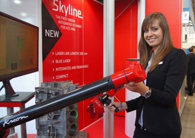 Ace Skyline scanning a motor