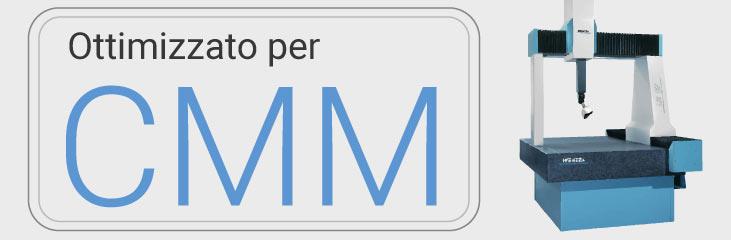 3D scanner optimized for CMM