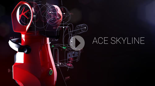 New video featuring the Ace Skyline scanning arm