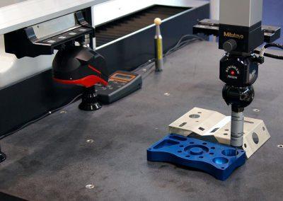Zephyr II Blue 3D scanner on a Mitutoyo CMM