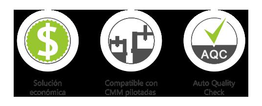 Escáner 3D Solano CMM : Solución económica / Compatible con MMC pilotadas / Auto Quality Check