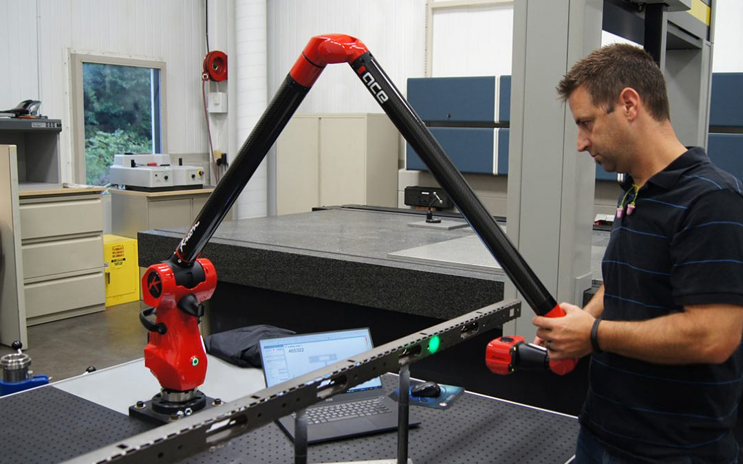 Herman Miller chooses a Kreon measuring arm to check and correct machine settings prior to production