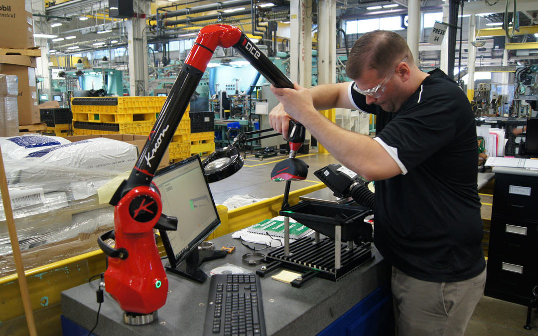 Mann Hummel drastically reduces investment costs by opting for a Kreon measuring arm with a 3D scanner
