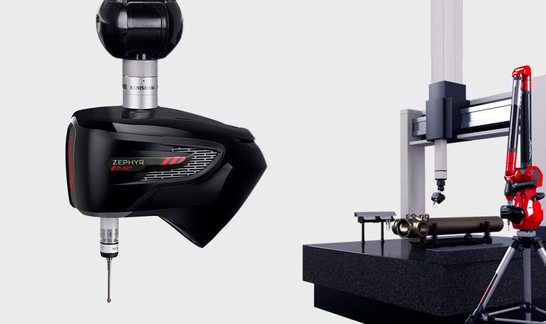Zephyr III scanners: versatile use on CMM and measuring arm.